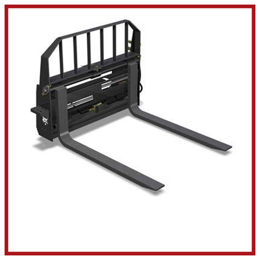 Bobcat Attachments Pallet Fork Hydraulic