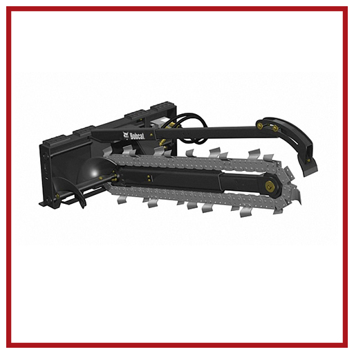 Bobcat Attachments Trencher